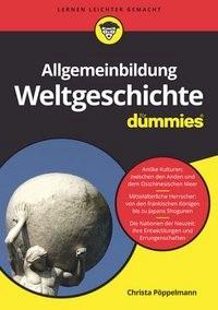 Allgemeinbildung Weltgeschichte für Dummies | Pöppelmann, 2017 | Buch (Cover)
