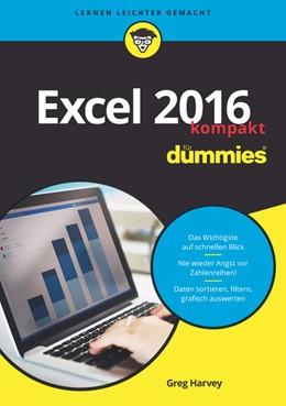 Abbildung von Harvey | Excel 2016 für Dummies kompakt | 1. Auflage | 2017 | beck-shop.de