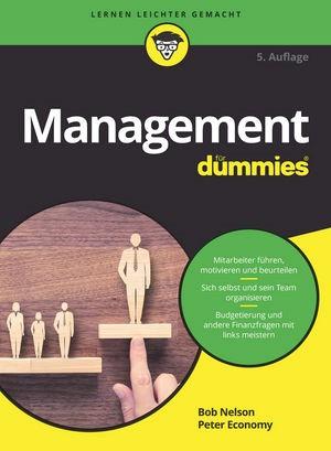 Management für Dummies | Nelson / Economy | 5. Auflage, 2017 | Buch (Cover)