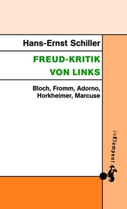 Abbildung von Schiller   Freud-Kritik von links   2017   Bloch, Fromm, Adorno, Horkheim...