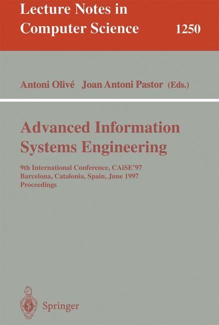 Abbildung von Olive / Pastor | Advanced Information Systems Engineering | 1997