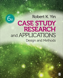 Abbildung von Yin | Case Study Research and Applications | 6th edition | 2018 | Design and Methods