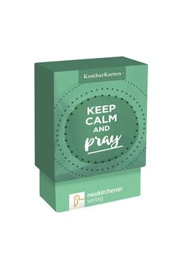 Abbildung von Schäfer | KostbarKarten: keep calm and pray | 2017