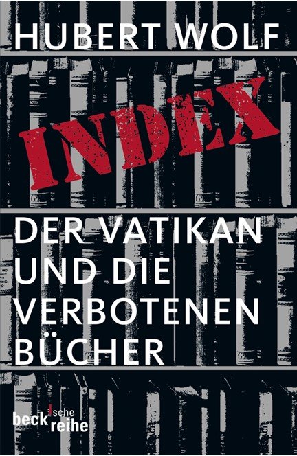 Cover: Hubert Wolf, Index