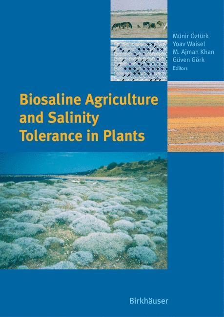 Biosaline Agriculture and Salinity Tolerance in Plants | Öztürk / Waisel / Khan / Görk, 2006 | Buch (Cover)