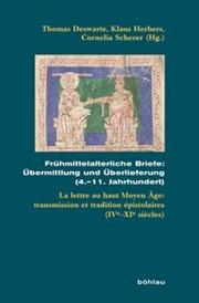 Frühmittelalterliche Briefe übermittlung Und überlieferung 411