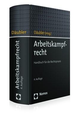 Arbeitskampfrecht | Däubler (Hrsg.) | 4. Auflage, 2017 | Buch (Cover)