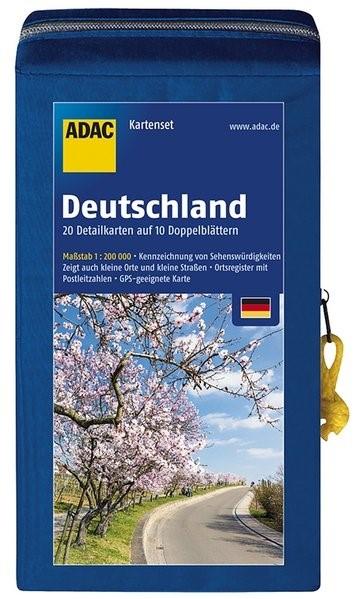 ADAC StraßenKarten Kartenset Deutschland 2018/2019 1:200.000 | 6. Auflage, 2017 (Cover)