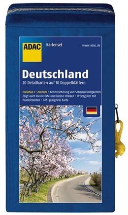 Abbildung von ADAC StraßenKarten Kartenset Deutschland 2018/2019 1:200.000 | 6. Auflage | 2017 | 20 Detailkarten auf 10 Doppelb...
