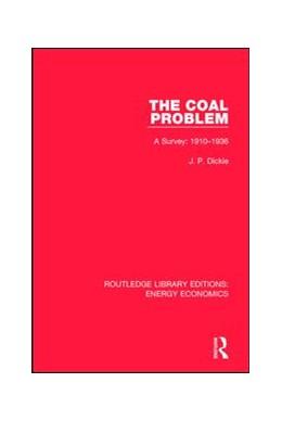 Abbildung von Dickie | The Coal Problem | 1. Auflage | 2017 | beck-shop.de