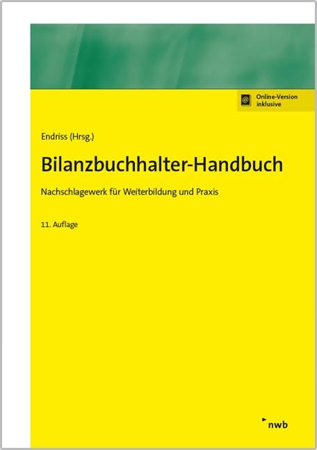 Bilanzbuchhalter-Handbuch | Endriss (Hrsg.) | 11., vollständig überarbeitete Auflage, 2017 | Buch (Cover)