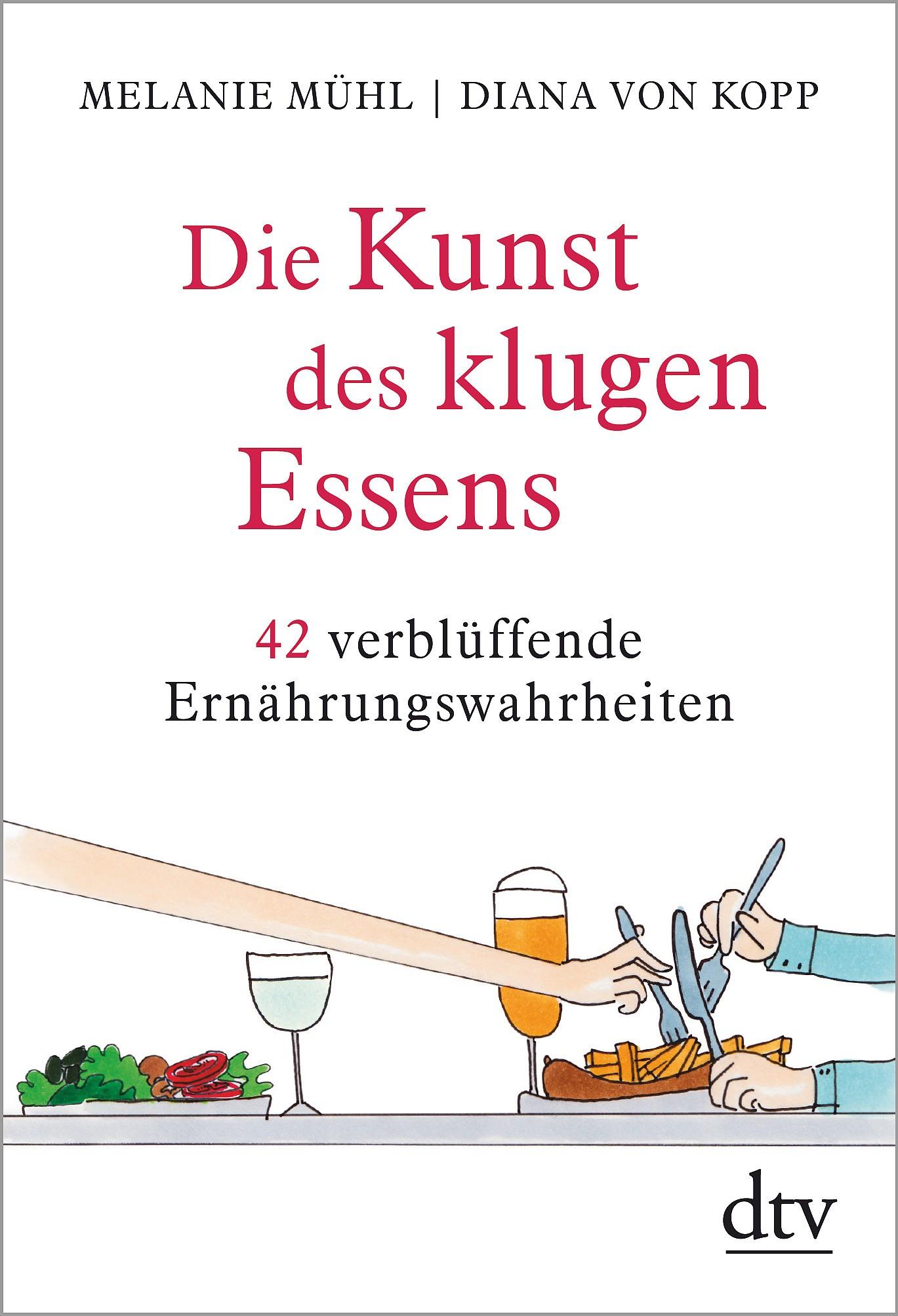 Die Kunst des klugen Essens   Mühl / Kopp, 2018   Buch (Cover)