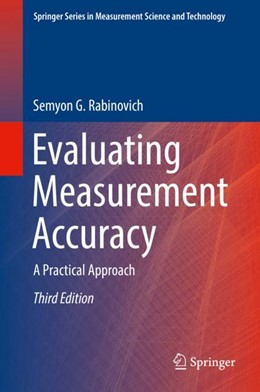 Abbildung von Rabinovich | Evaluating Measurement Accuracy | 3. Auflage | 2017 | beck-shop.de