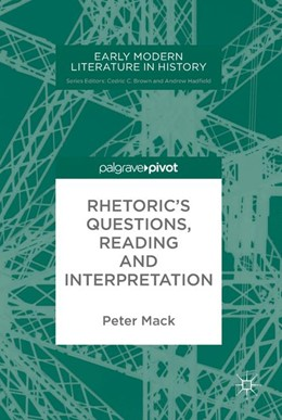 Abbildung von Mack   Rhetoric's Questions, Reading and Interpretation   1. Auflage   2017   beck-shop.de