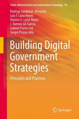 Abbildung von Sandoval-Almazán / Luna-Reyes | Building Digital Government Strategies | 1st ed. 2017 | 2017 | Principles and Practices | 16