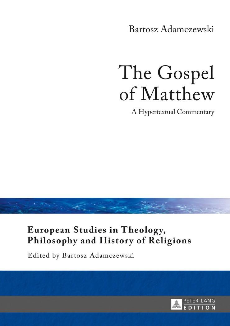 The Gospel of Matthew | Adamczewski, 2017 | Buch (Cover)