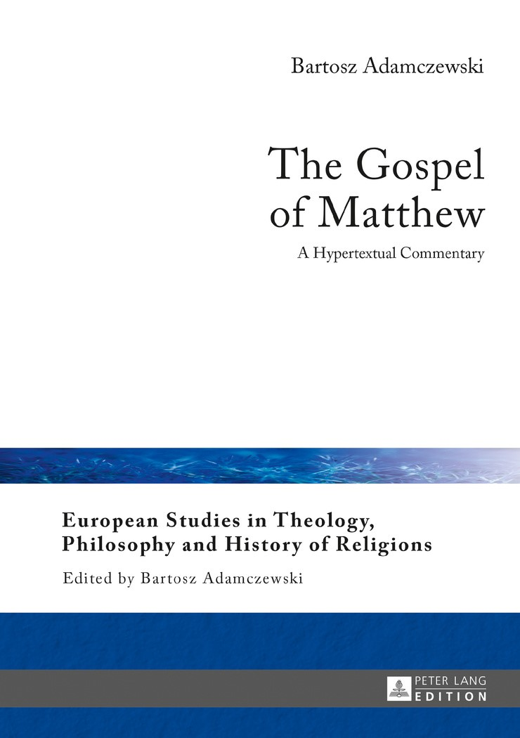 Abbildung von Adamczewski | The Gospel of Matthew | 2017