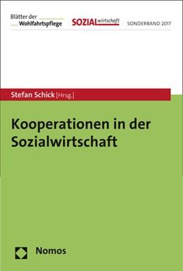Abbildung von Schick (Hrsg.) | Kooperationen in der Sozialwirtschaft | 2017 | Sonderband 2017 der Zeitschrif...