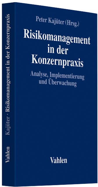 Risikomanagement in der Konzernpraxis | Kajüter, 2019 | Buch (Cover)
