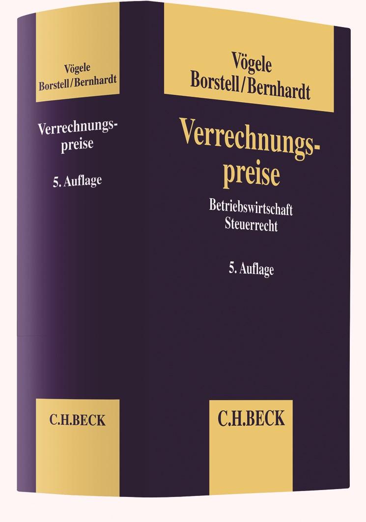Verrechnungspreise | Vögele / Borstell / Bernhardt | 5. Auflage, 2019 | Buch (Cover)