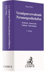 Vermögensverwaltende Personengesellschaften | Haase / Dorn | 3., vollständig überarbeitete Auflage, 2018 | Buch (Cover)