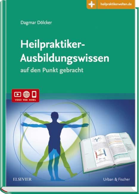 Heilpraktiker-Ausbildungswissen | Dölcker, 2017 (Cover)