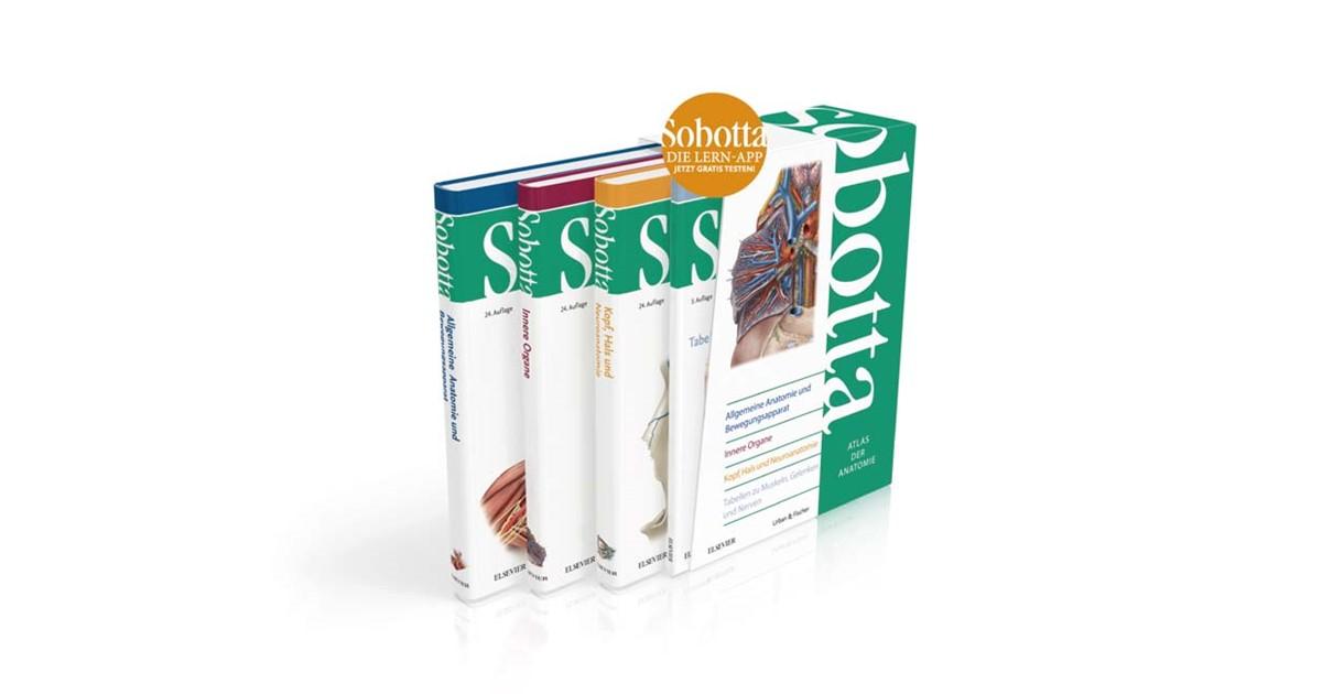 Sobotta • Atlas der Anatomie | Paulsen / Waschke (Hrsg.) | 24 ...