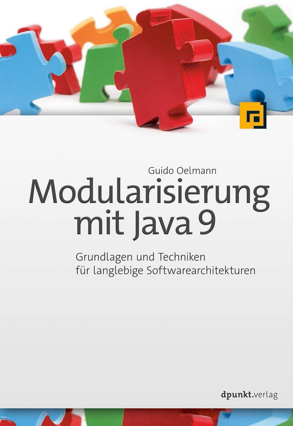 Modularisierung mit Java 9 | Oelmann, 2017 | Buch (Cover)