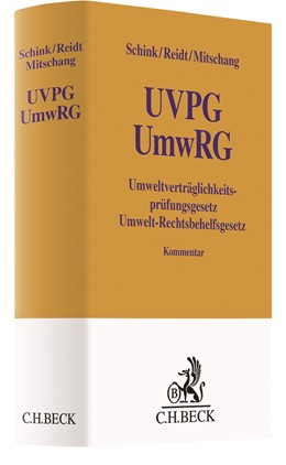 Abbildung von Schink / Reidt / Mitschang | Umweltverträglichkeitsprüfungsgesetz / Umwelt-Rechtsbehelfsgesetz: UVPG / UmwRG | 2018