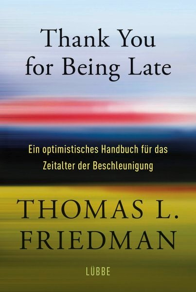 Thank You for Being Late | Friedman, 2017 | Buch (Cover)
