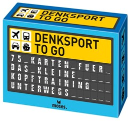 Abbildung von Domzalski | Denksport to go | 2017 | 75 Karten für das kleine Kopft...