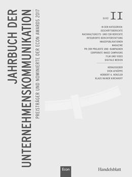 Abbildung von Henzler / Kirchhoff | Jahrbuch der Unternehmenskommunikation 2017 | 1. Auflage | 2017 | 11 | beck-shop.de