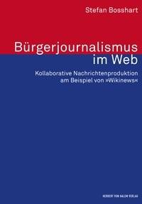 Bürgerjournalismus im Web | Bosshart, 2016 | Buch (Cover)