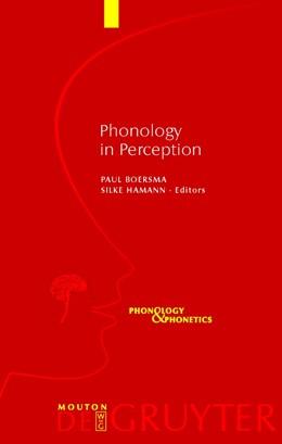 Abbildung von Boersma / Hamann | Phonology in Perception | 2009