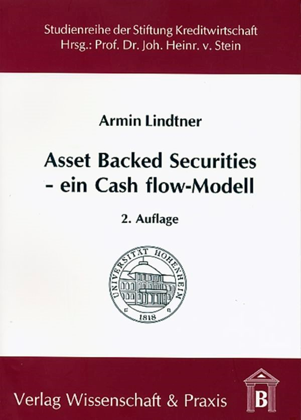 Asset Backed Securities - Ein Cash flow-Modell | Lindtner | 2., überarb. u. erw. Aufl., 2006 | Buch (Cover)