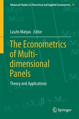 Abbildung von Matyas | The Econometrics of Multi-dimensional Panels | 1st ed. 2017 | 2017 | Theory and Applications | 50