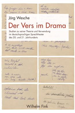 Abbildung von Wesche | Der Vers im Drama | 2018 | Studien zur Theorie und Verwen...