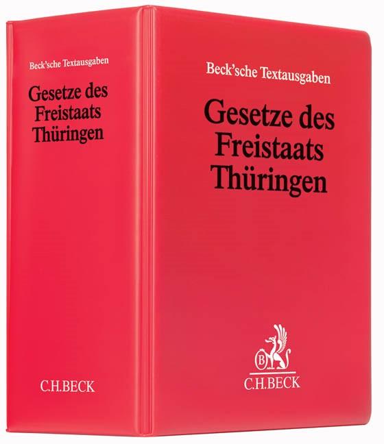 Abbildung von Gesetze des Freistaats Thüringen | 70. Auflage | 2018