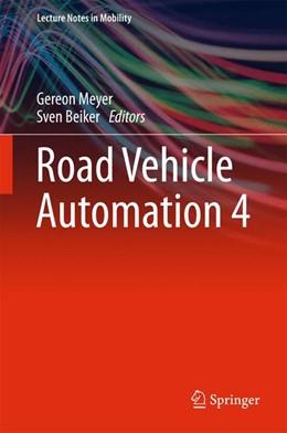 Abbildung von Meyer / Beiker | Road Vehicle Automation 4 | 1st ed. 2018 | 2017