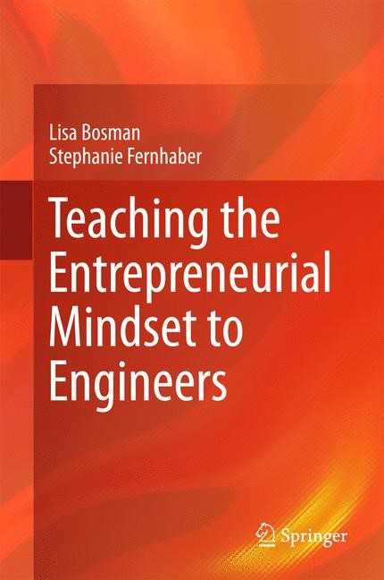 Teaching the Entrepreneurial Mindset to Engineers | Bosman / Fernhaber, 2017 | Buch (Cover)