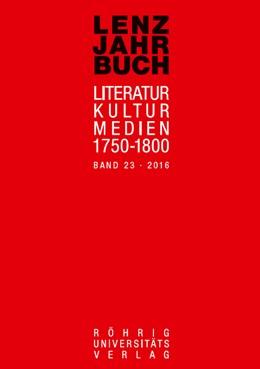 Abbildung von Roßbach / Martin | Lenz-Jahrbuch 23 (2016) | 1. Auflage | 2017 | beck-shop.de