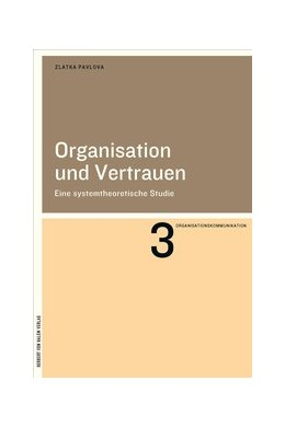 Abbildung von Pavlova | Organisation und Vertrauen | 1. Auflage | 2018 | 3 | beck-shop.de
