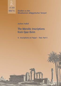 Abbildung von Hallof / Beinlich   The Meroitic Inscriptions from Qasr Ibrim   1. Auflage   2017   9.3   beck-shop.de