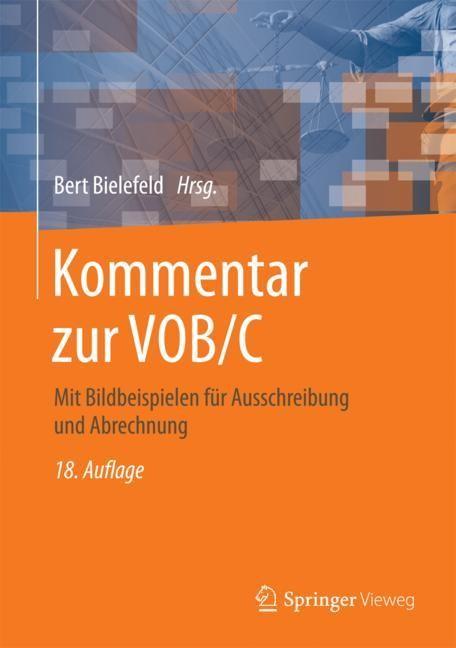 Kommentar zur VOB/C | Bielefeld | 18. Auflage, 2017 | Buch (Cover)