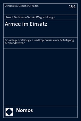 Abbildung von Gießmann / Wagner   Armee im Einsatz   2009   Grundlagen, Strategien und Erg...   191