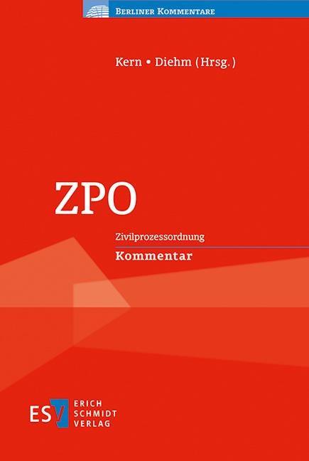 ZPO | Kern / Diehm (Hrsg.), 2017 | Buch (Cover)