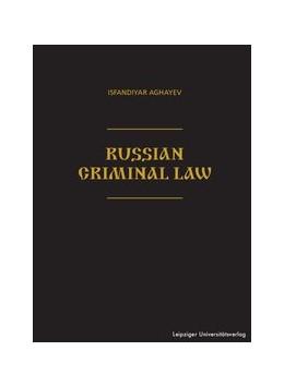 Abbildung von Aghayev | Russian Criminal Law | 1. Auflage | 2017