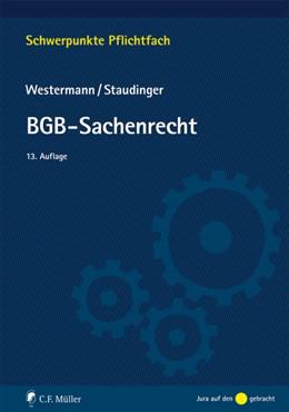 Abbildung von Westermann / Staudinger   BGB-Sachenrecht   13., neu bearbeitete Auflage   2017