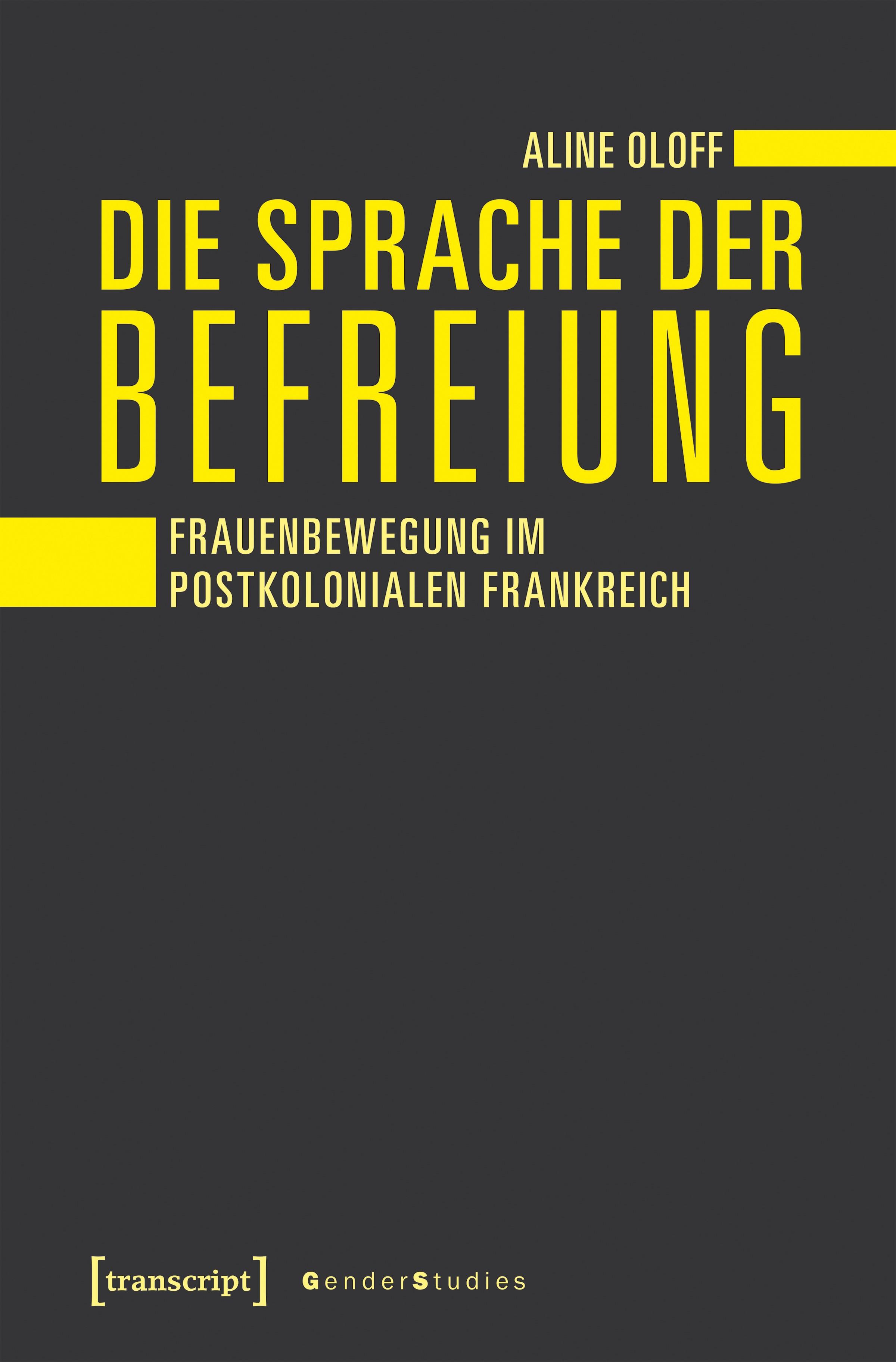 Die Sprache der Befreiung | Oloff, 2018 | Buch (Cover)