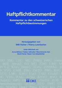 Haftpflichtkommentar | Fischer / Luterbacher, 2017 | Buch (Cover)